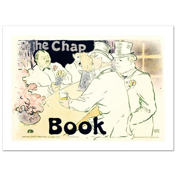 """The Chap Book"" Hand Pulled Lithograph by the RE Society, Image Originally by He"