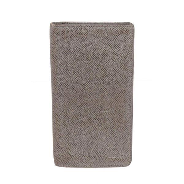Louis Vuitton Grey Long Bifold Wallet