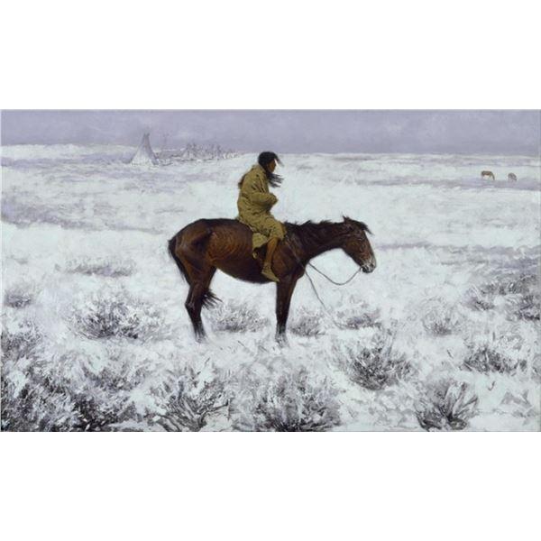 Frederic Sackrider Remington  - The Herd Boy