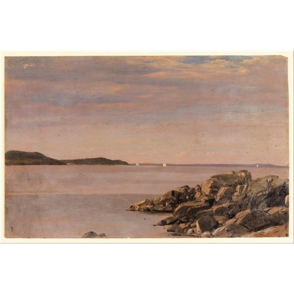 Frederic Edwin Church - Mt Desert Island Maine