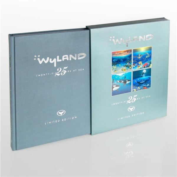 """""""Wyland: 25 Years at Sea"""" (2006) Limited Edition Collector's Fine Art Book by Jo"""