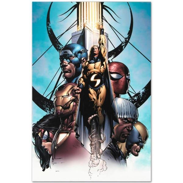 "Marvel Comics ""New Avengers #10"" Numbered Limited Edition Giclee on Canvas by Da"