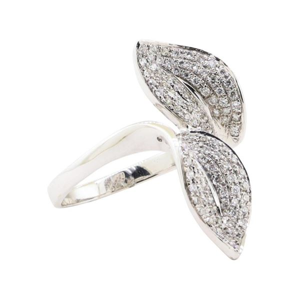 0.42 ctw Diamond Ring - 18KT White Gold