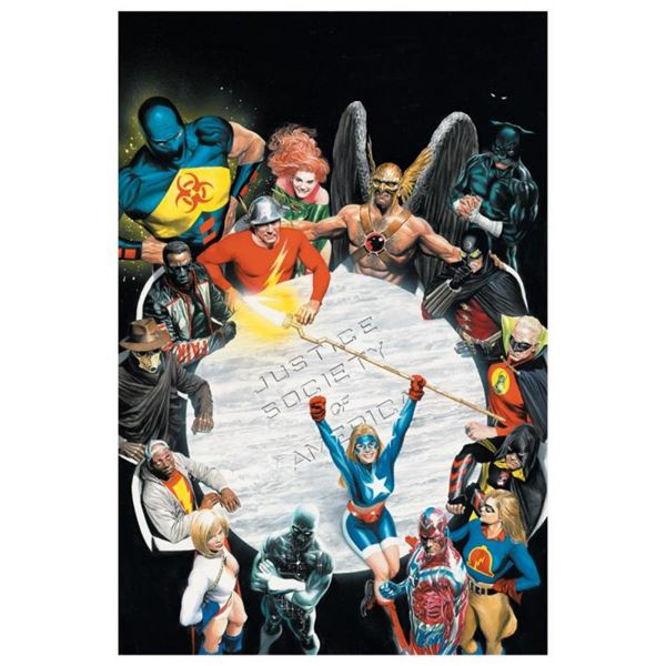 """DC Comics, """"Justice Society of America #1"""" Numbered Limited Edition Giclee on Ca"""
