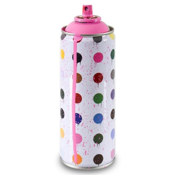 Hirst Dots (Pink) by Mr Brainwash