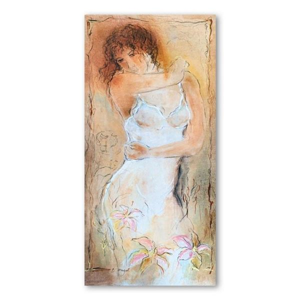 """Batia Magal, """"Naivety"""" Hand Signed Limited Edition Serigraph on Paper with Lette"""