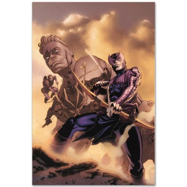 """Marvel Comics """"Hawkeye: Blindside #4"""" Numbered Limited Edition Giclee on Canvas"""