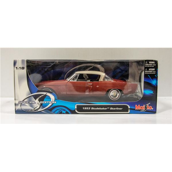 STUDEBAKER DIECAST 1:18 STARLINE COUPE