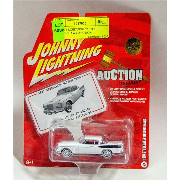 JOHNNY LIGHTNING 57 STUDE GOLDEN HAWK AUCTION