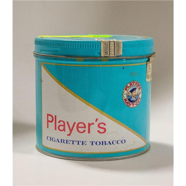 PLAYERS TOBACCO TIN