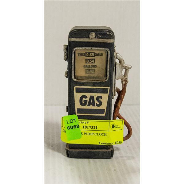 DIECAST GAS PUMP CLOCK