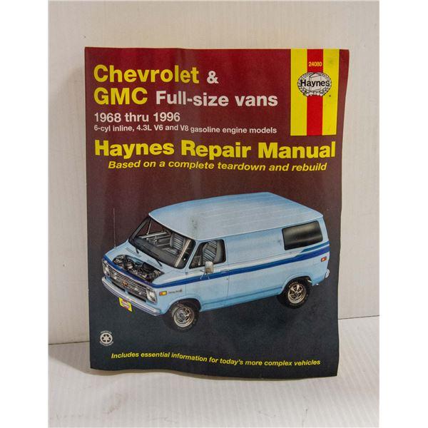 HAYNES CHEV / GMC 1968-1996