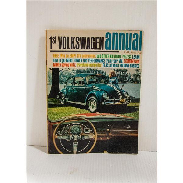 FIRST VW ANNUL 1966