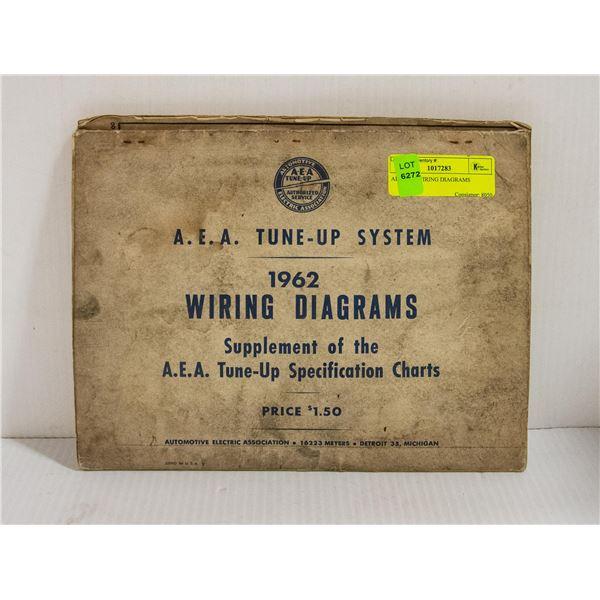 AEA 1962 WIRING DIAGRAMS