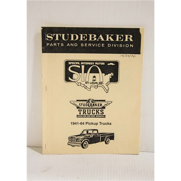 STUDEBAKER TRUCK PARTS 1994
