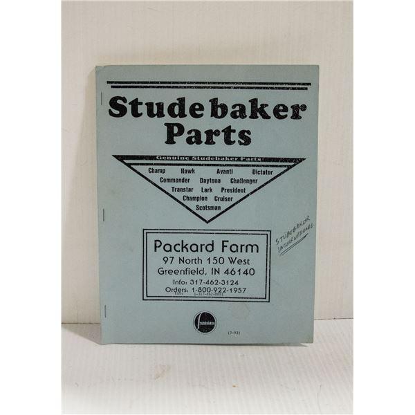 STUDEBAKER PARTS PACKARD FARM