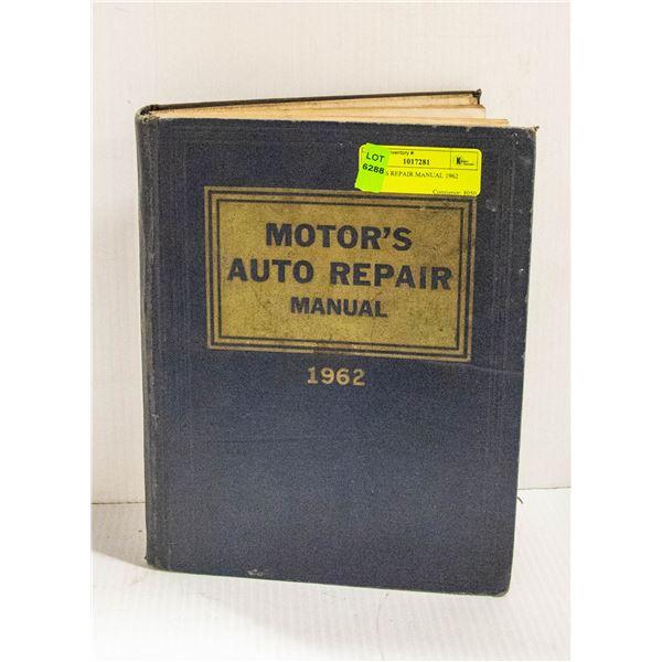MOTORS REPAIR MANUAL 1962