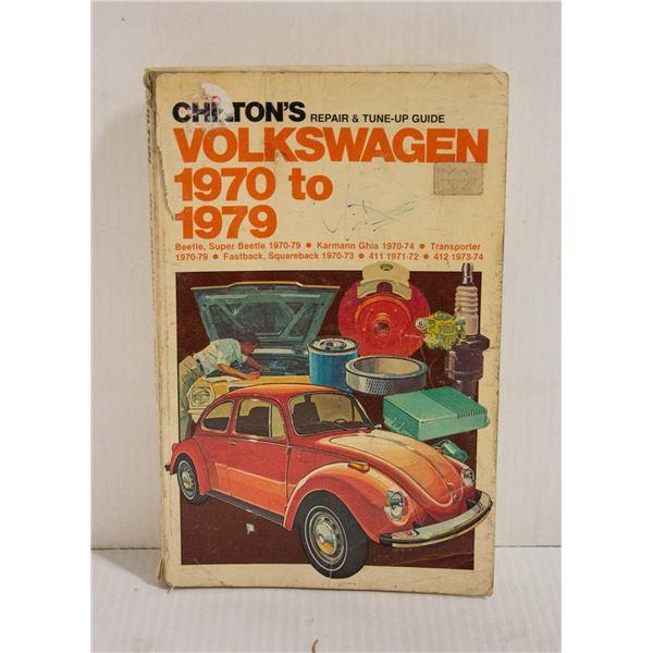 CHILTONS VOLKSWAGEN 1970 - 1979