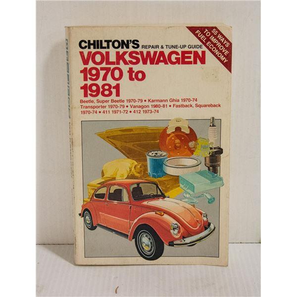 CHILTONS VOLKSWAGEN  1970-1981