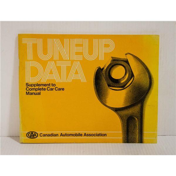 AMA - TUNE-UP DATA 1972-1981