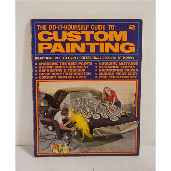 DIY - CUSTOM PAINTING BOOK