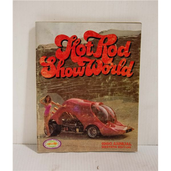HOT ROD SHOW WORLD 1980 MAGAZINE