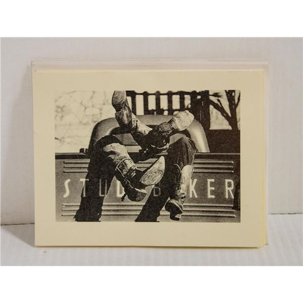 FIVE PACK STUDEBAKER CARDS AND ENVELOPES