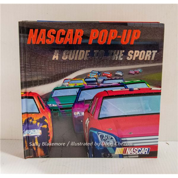 NASCAR POP-UP BOOK - A GUIDE TO THE SPORT
