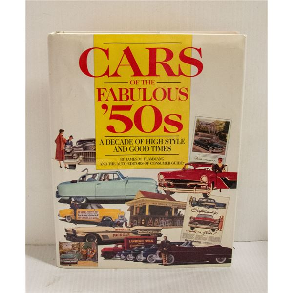 BOOK CARS OF THE FABULOUS 50S
