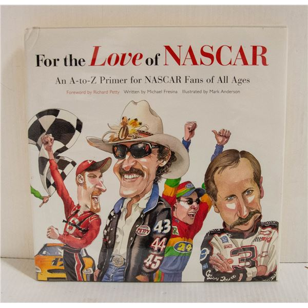 """""""FOR THE LOVE OF NASCAR"""" BOOK"""