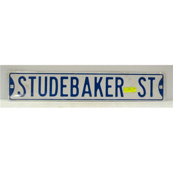 STUDEBAKER STREET SIGN