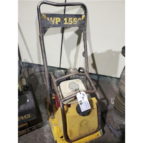 WACKER WP 1550 WALK BEHIND GAS POWERED PLATE COMPACTOR