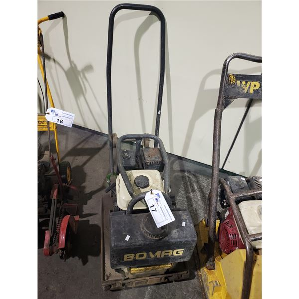BOMAG WALK BEHIND GAS POWERED PLATE COMPACTOR