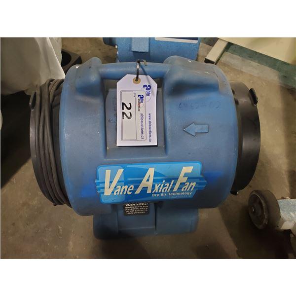 BLUE VANE AXIAL RESTORATION AIR CIRCULATION FAN