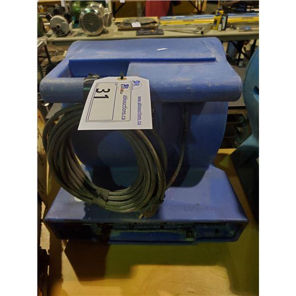 BLUE CLARKE RESTORATION AIR CIRCULATION FAN