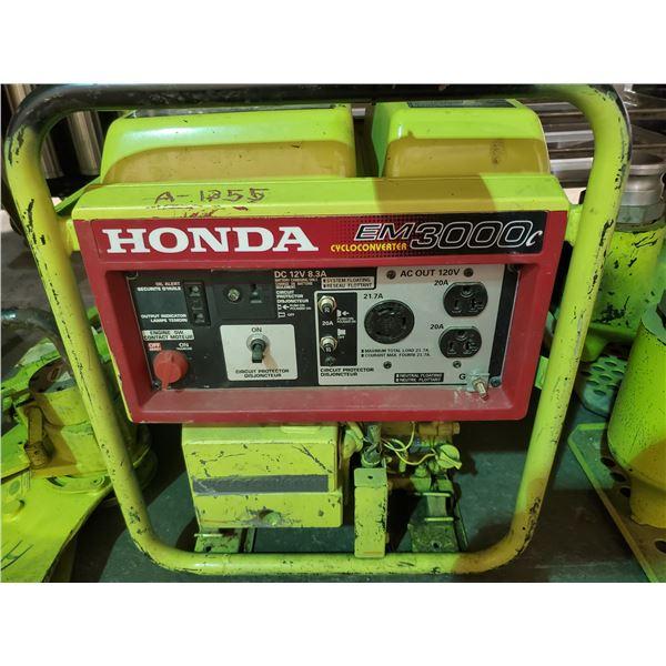 HONDA EM3000 GAS POWERED GENERATOR