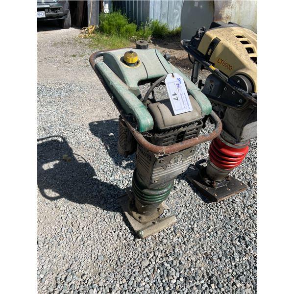WACKER BS60-2I GAS POWERED UPRIGHT TAMPER