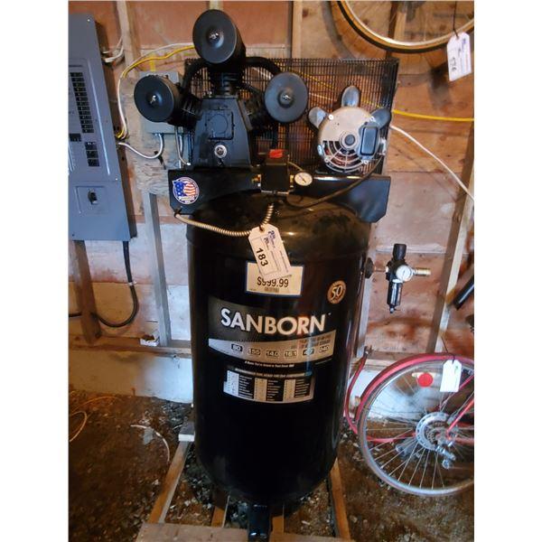 *SANBORN 240V 80GAL VERTICAL 155PSI AIR COMPRESSOR