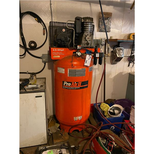*PROAIR 2 VERTICAL 6.5HP 80GAL 175PSI TWO STAGE INDUSTRIAL AIR COMPRESSOR