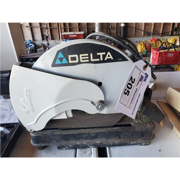 DELTA 120V CORDED 14' ABRASIVE CUT OFF SAW MODEL 20-142C