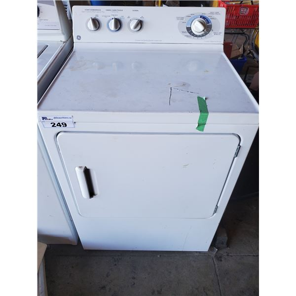 GENERAL ELECTRIC PBSR373EB1WW FRONT LOAD DRYER