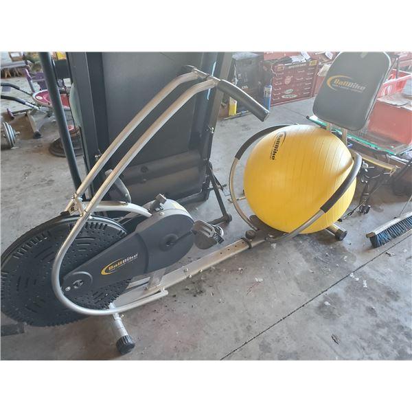 BALLBIKE SELF POWERED CARDIO/CORE RECUMBENT CYCLE