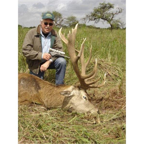 Paco Pizarro  Añuritay Ranch (S. America) 7-Day All-Inclusive Hunt