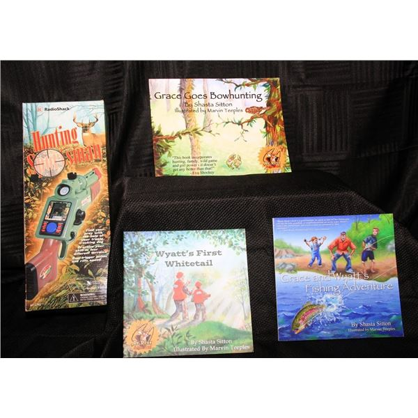Kids Hunting Book Set (Set of 4 Books)
