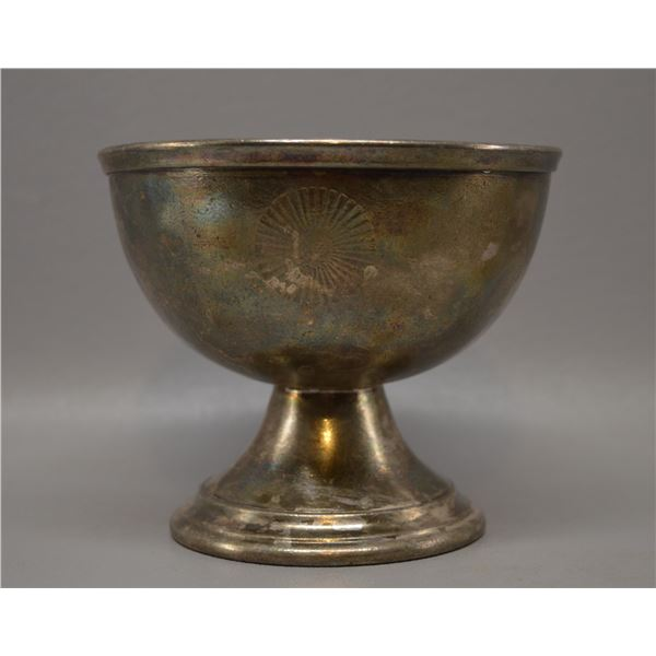 FRED HARVEY INTERNATIONAL SILVER CO SILVER PLATE CUP