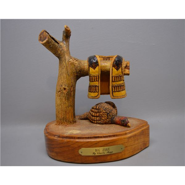 SOUTHWEST WOOD CARVING BY CHARLES MAPP