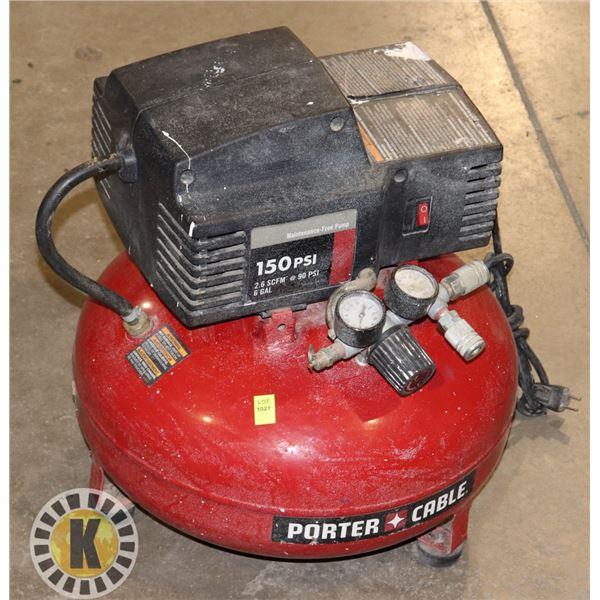 PORTER CABLE 6 GAL COMPRESSOR
