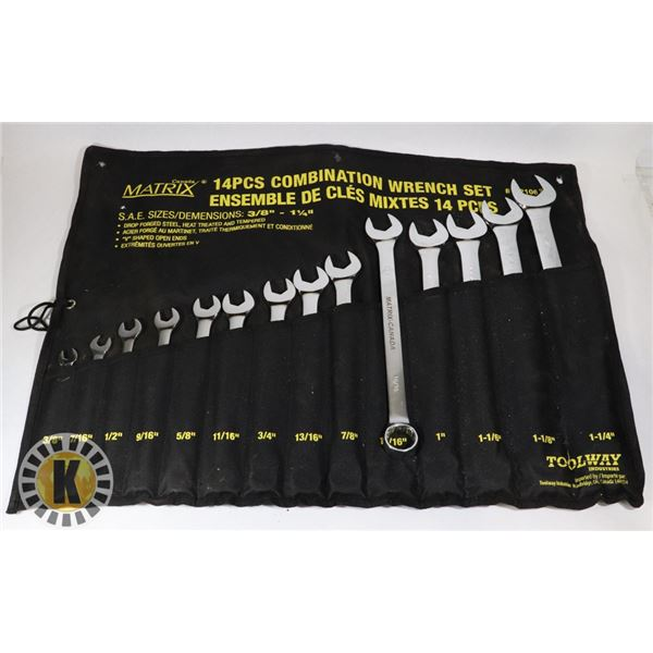 TOOL WAY INDUSTRIES WRENCH SET
