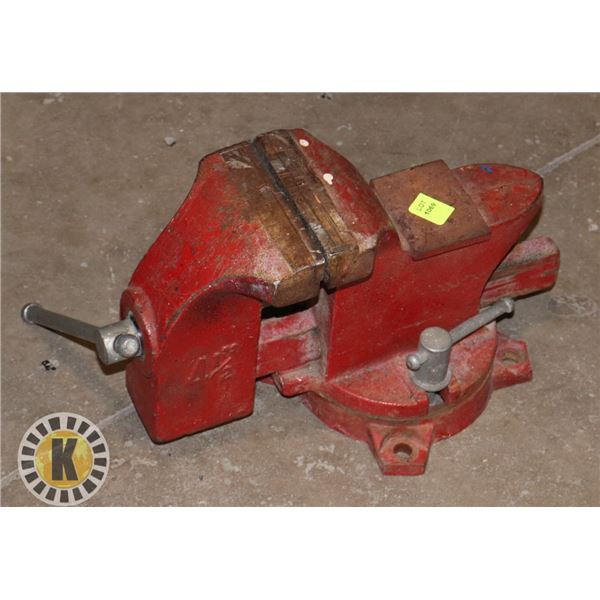 """RED 4-1/2"""" BENCH VICE"""