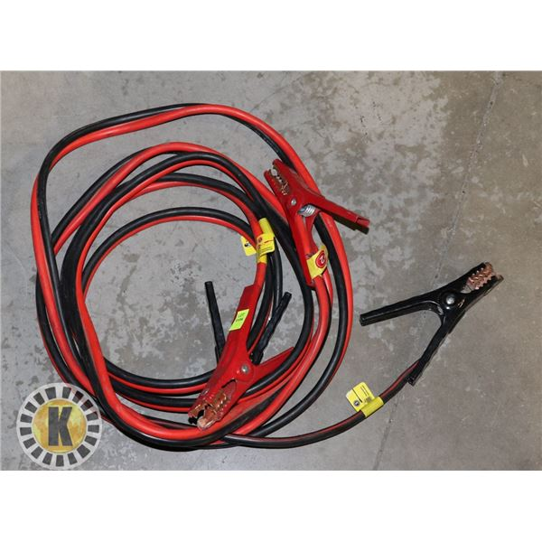 BATTERY JUMPSTARTER CABLE